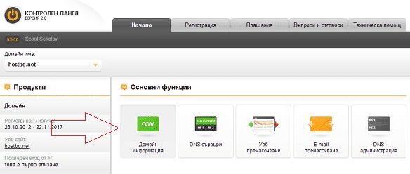 регистрация домена technology