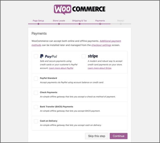 WooCommerce плащания