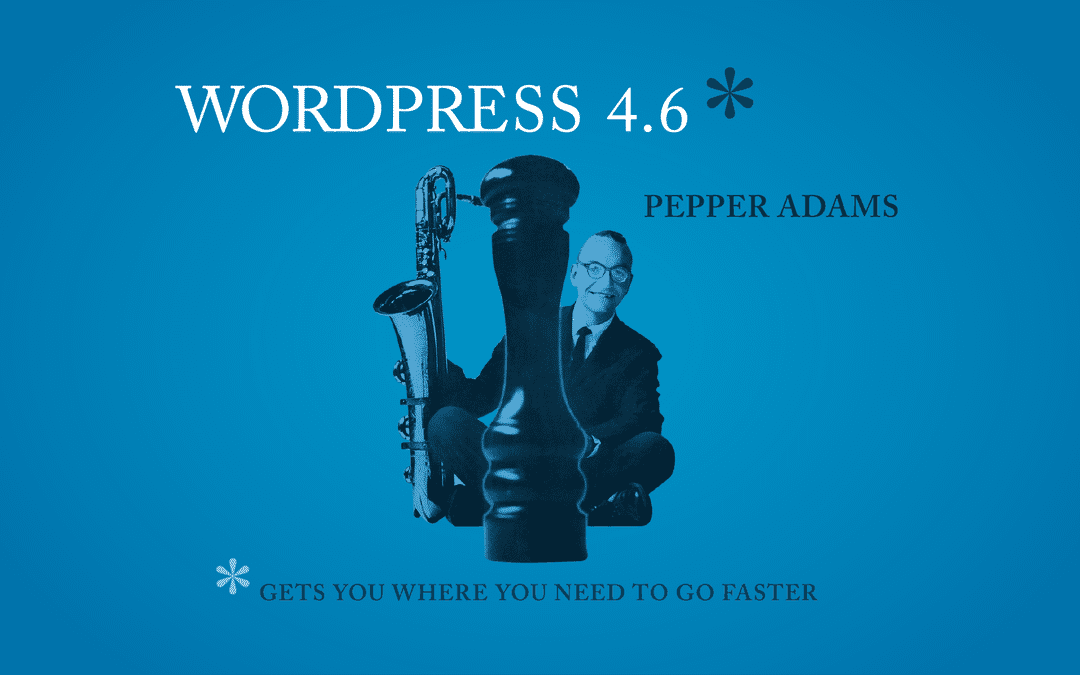 WordPress версия 4.6 вече е тук