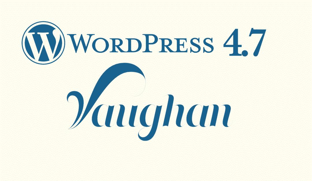 Какво ново в WordPress 4.7